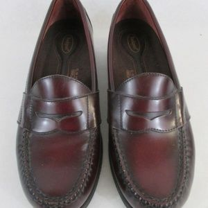 Men's rockport red comfort dress shoes . size 8M